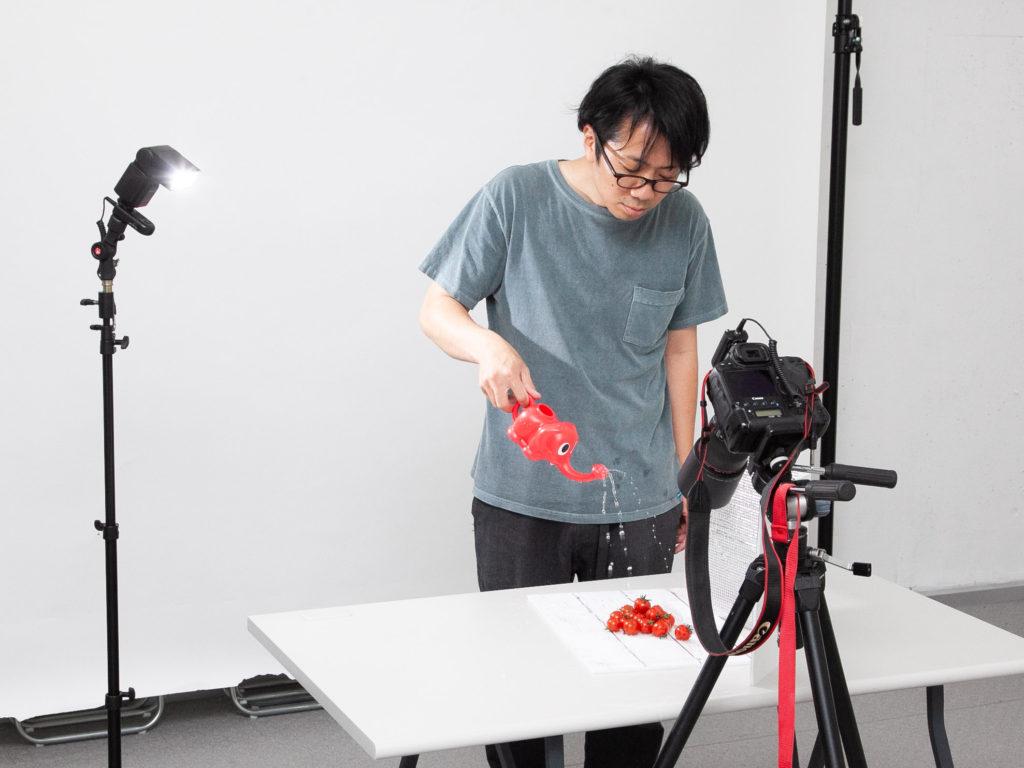 フォト・パートナーズ株式会社 売上を上げる写真 MBAカメラマン 中小企業診断士 撮影技法 トマト DAISO